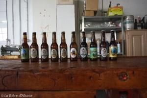 Brasserie La Narcose - Gamme de bière