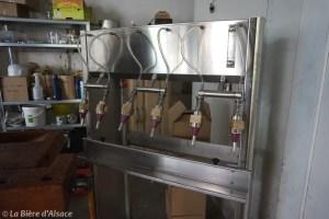 Brasserie La Narcose - Mise en bouteille