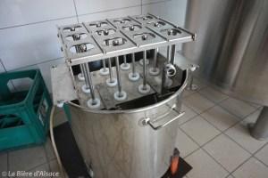 Brasserie La Narcose - Laveuse de bouteilles