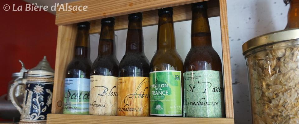 Brasserie La Souffel - Gamme de bières