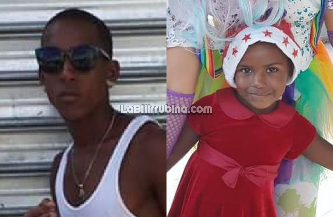 """""""Blondy"""" y la niña Yulensky Batista Cuevas"""