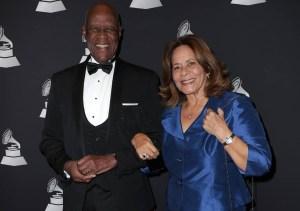 Johnny Ventura y su esposa Josefina
