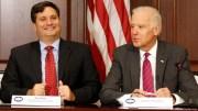 Ron Klain y el presidente electo Joe Biden.