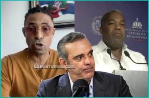 Fausto Mata, Luis Abinader y Tony Peña Guaba