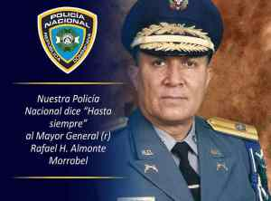 El mayor general (r) Rafael H. Almonte Morrobel
