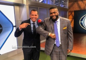 David Ortiz y Alex Rodríguez