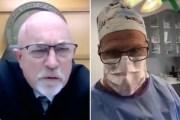 El juez Gary Link y el Dr. Scott Green