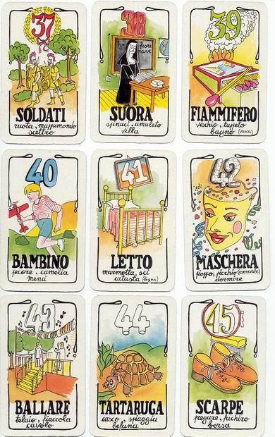 Carte del Lotto