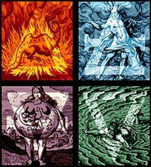 element magici_fuoco_terra_acqua_aria