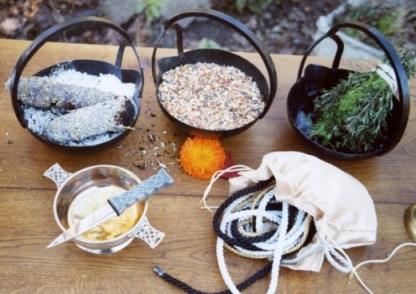 Stregoneria e strumenti wicca. Magia