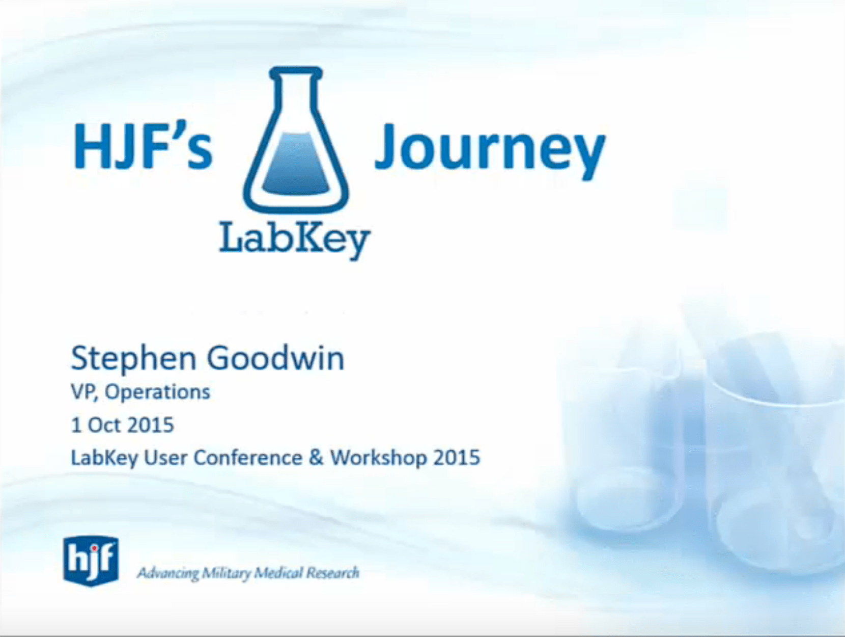 Evolving Lab Workflows to Meet New Demands in the U.S. Military HIV Research Program (MHRP)