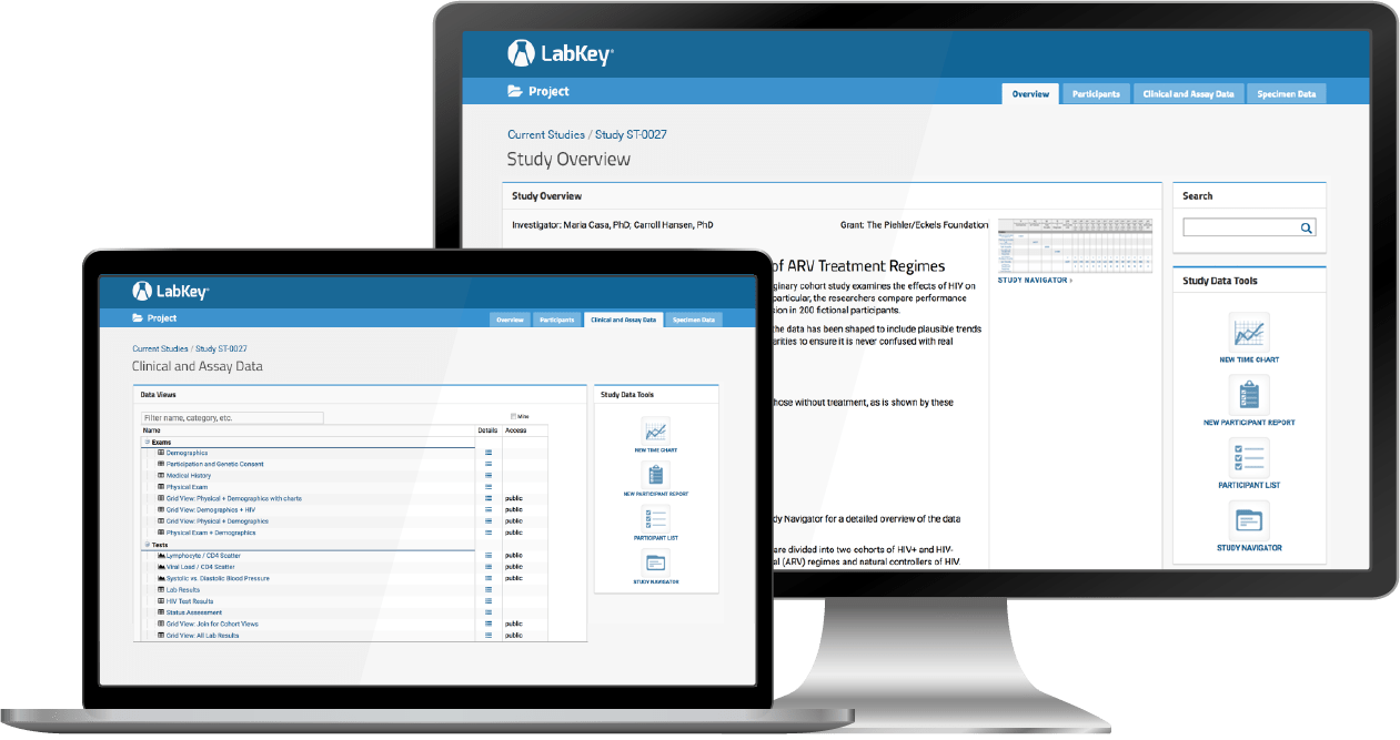 LabKey Server software for Study Data Management and Integration