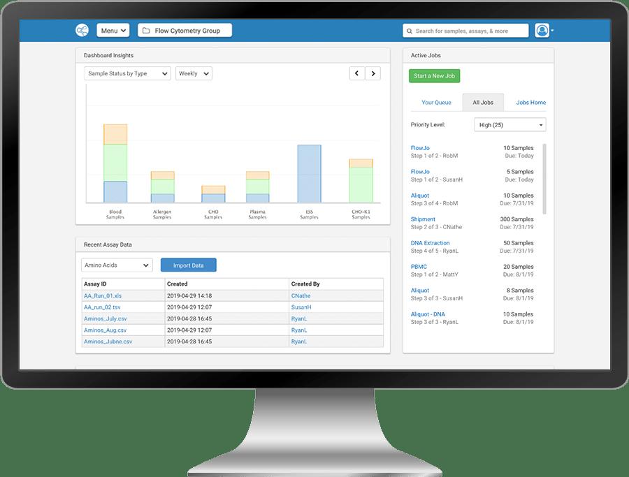 Sample Management Software