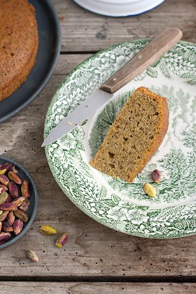 Ricetta Torta di pistacchi senza farina  Labna