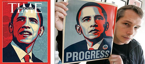 Put your own Photo in Barack Obama's 'Hope' Poster
