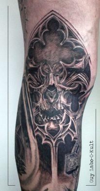 Gothic Skull 2016
