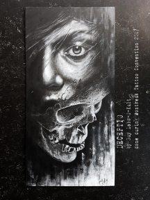 """Deceptio"" - Originalbild von Guy Labo-O-Kult (Acrylgemälde auf Leinwandkarton)"