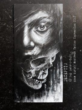 Deceptio   Acrylpainting by Guy Labo-O-Kult