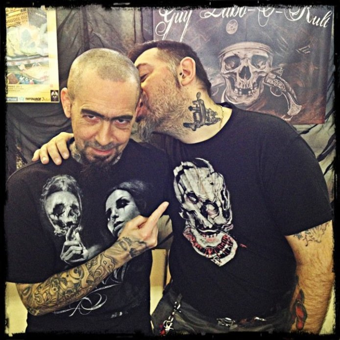 Guy & Pascal @ Geneva Int. Tattoo Convention