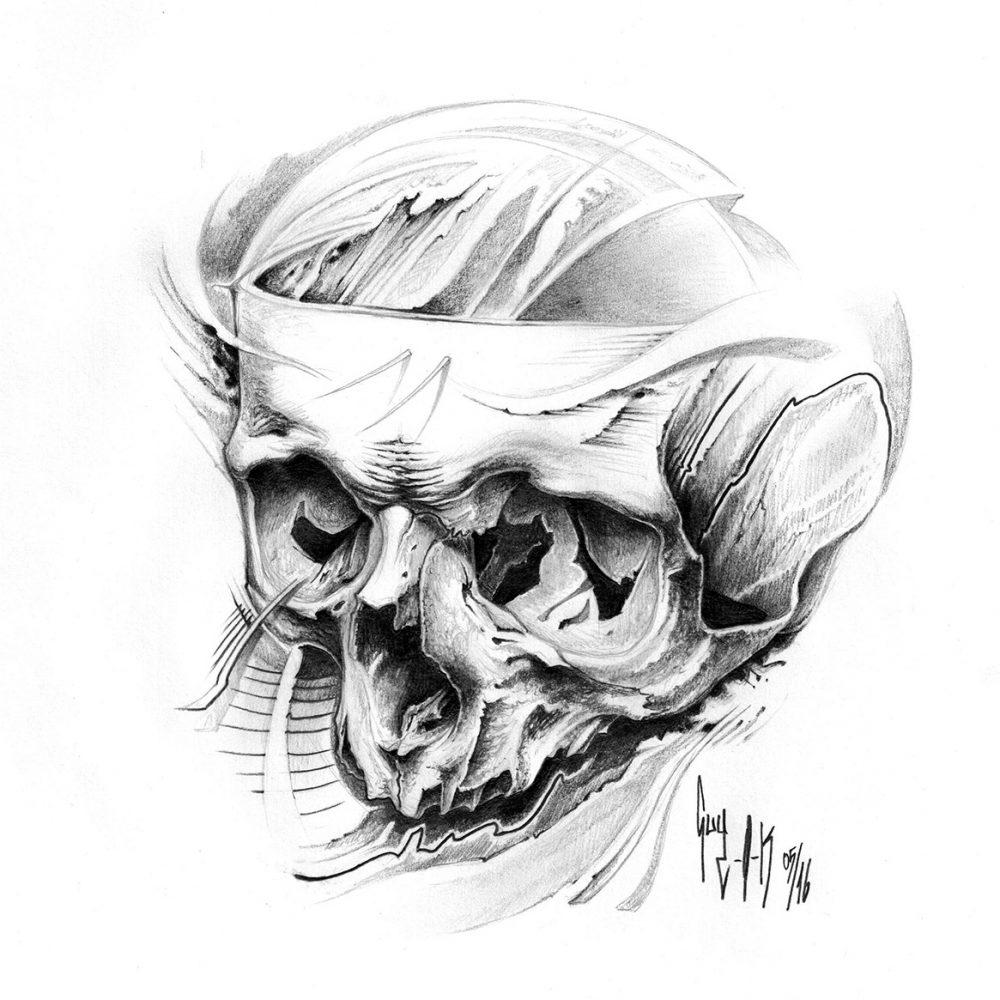 "Pencil Drawing ""Ignorantia"" Guy Labo-O-Kult"