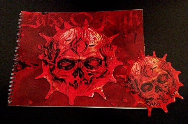 Creation of Labo-O-Kult Sticker 2008 & Portfolio