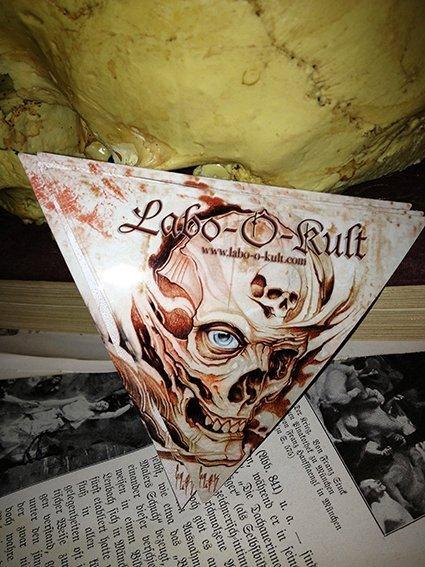 Creation of Labo-O-Kult Sticker 2011