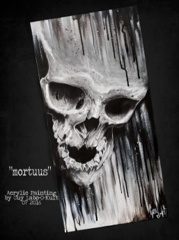 """Mortuus"" - Acrylpainting by Guy Labo-O-Kult"