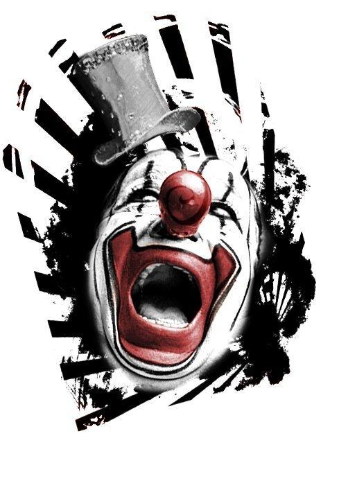 """Clown"" - Creation of Labo Pogo Tattoo Motif"