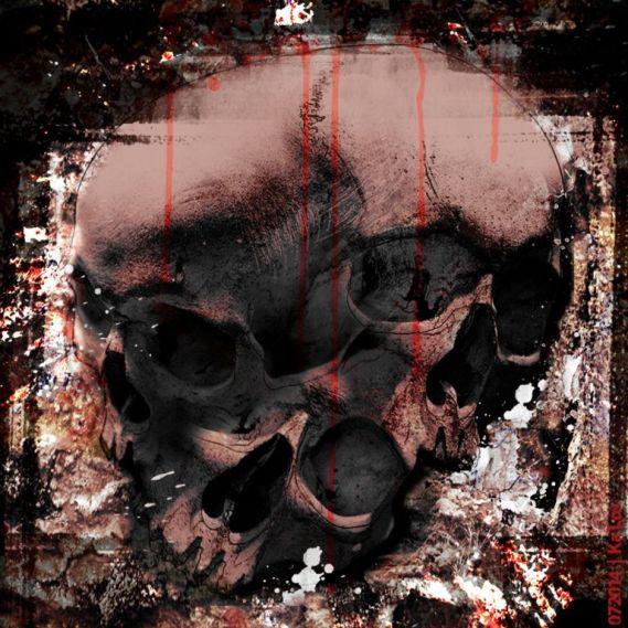 """Triple Skull"" – GrafiKArt by Ka L-O-K"