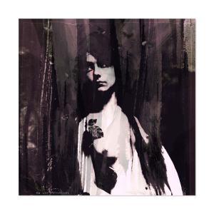 """GraphiKArt """"Nude"""" by Ka L-O-K - Fine Art Giclée Print"""