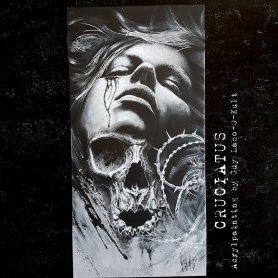 """""""Cruciatus"""" Acrylpainting by Guy Labo-O-Kult"""