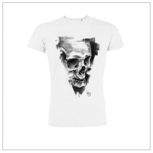T-Shirt #810 Pulvis Es de Guy Labo-O-Kult en collaboration avec nopas.ch