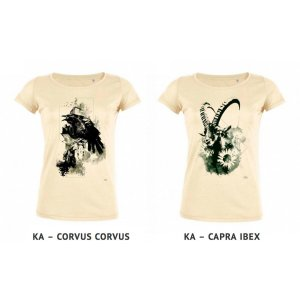 T-Shirts de Ka L-O-K en collaboration avec nopas.ch