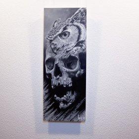 """""""Bub-O-Feralis"""" - Original Artwork by Guy Labo-O-Kult (Acrylic on Canvas board)"""
