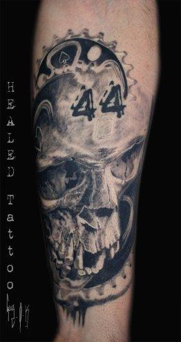 Skull pour fou de vélo par Guy Labo-O-Kult