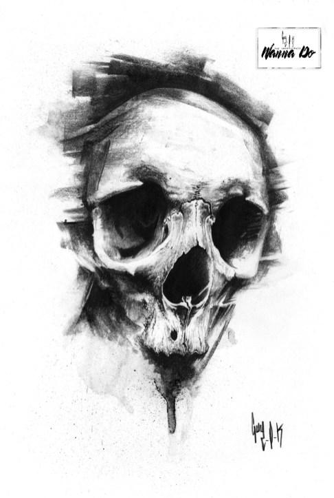 Wanna Do Charbon Skull#803 Guy Labo-O-Kult