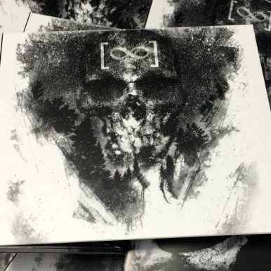 """Cover Art by Guy Labo-o-Kult for Swiss Black Metal band """"Borgne"""""""