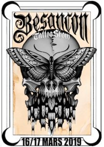 Flyer Besançon Tattoo Show 2019