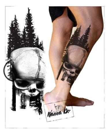 "Mock up Wanna Do ""Silva Fetus Skull"" - Guy Labo-O-Kult"