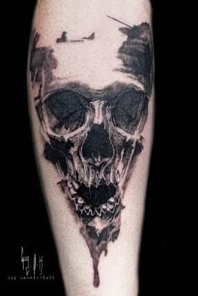 Wanna Done, Skull #874 by Guy Labo-O-Kult