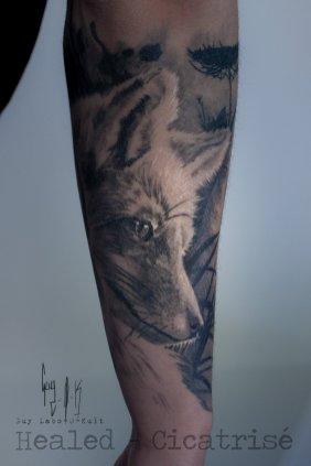 HEALED _ Fox by Guy Labo-O-Kult