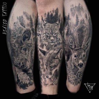 Abgeheiltes Tattoo | GUY LABO-O-KULT