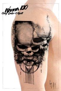 Wanna Do Fetus Skull by Guy Labo-O-Kult