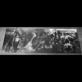 "Exclusive Covers by Ka L-O-K for Triple Album of ""Borgne"" (Vinyl Box 200 - V1 Black-200 ex)"