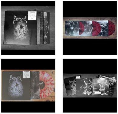 "Triple Album Set by ""Borgne"" - Cover Artwork by Guy Labo-O-Kult and Inside Artwork by Ka L-O-K"
