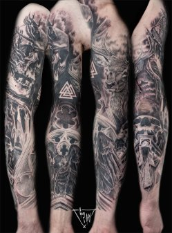 Full sleeve   Guy Labo-O-Kult