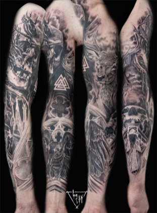 Sleeve by Guy Labo-O-Kult