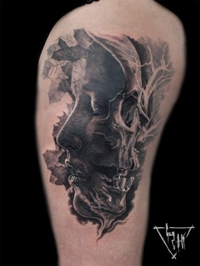 Tattoo Memento Mori | Guy Labo-O-Kult