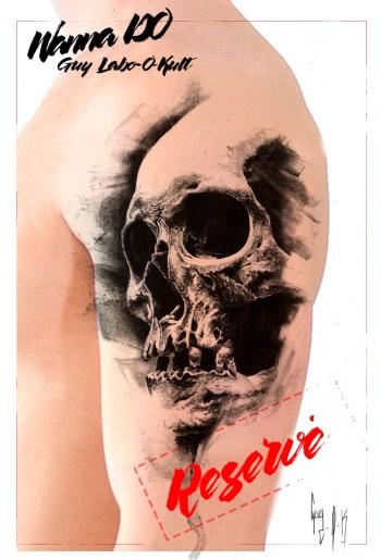 Guy Labo-O-Kult – Charcoal Skull 21