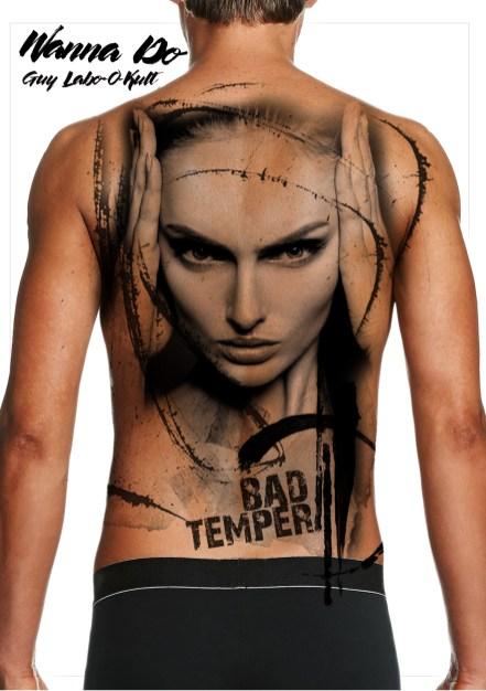 """Idée de motif """"Bad Temper"""" - Guy Labo-O-Kult"""